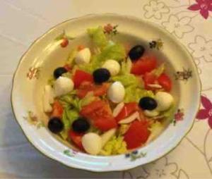 Ens. de tomate y Mozzarella