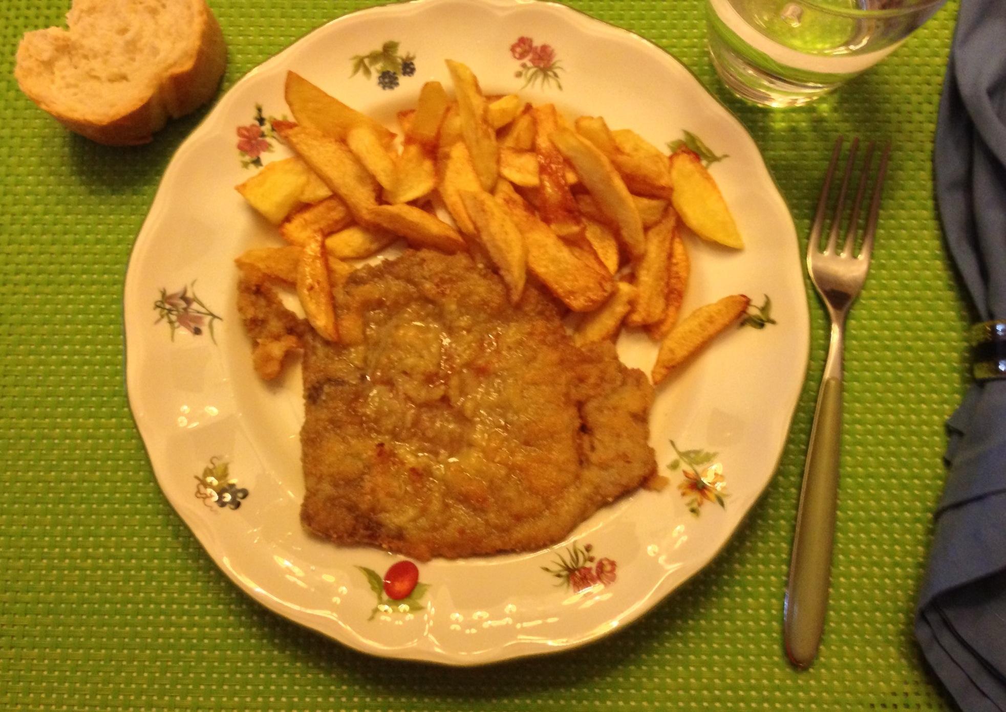 Filete de ternera a la milanesa principiantes entre fogones for Cocinar filetes de ternera