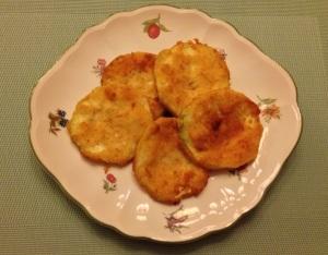 Calabacines empanados