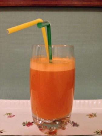Smoothie de piña y zanahoria