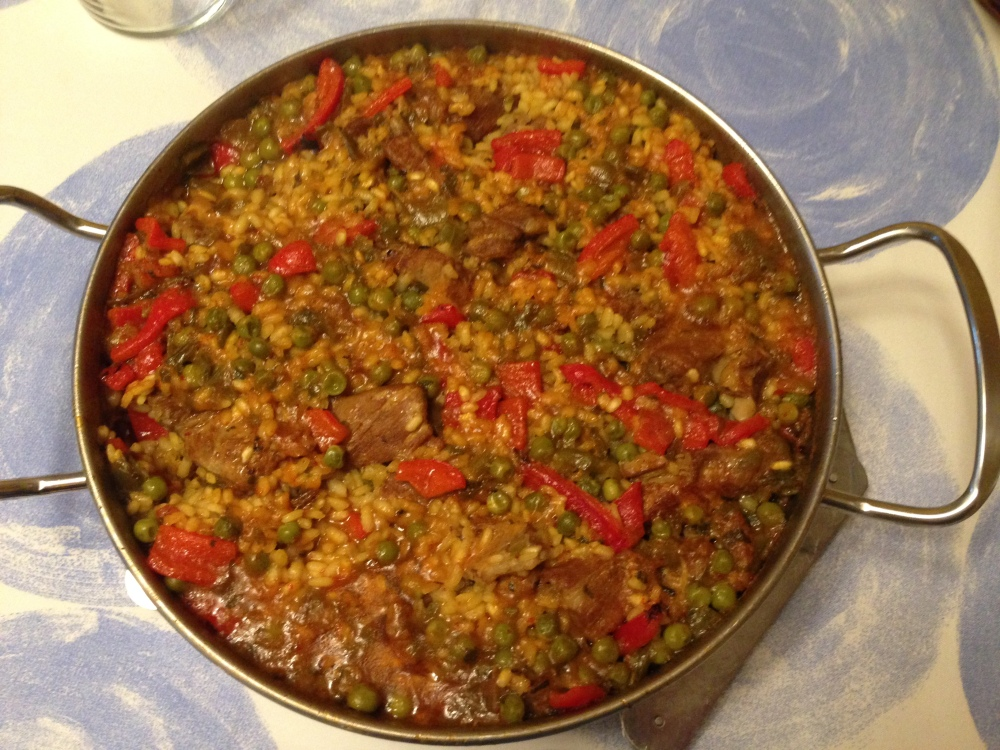 Arroz con costillas de cerdo.2