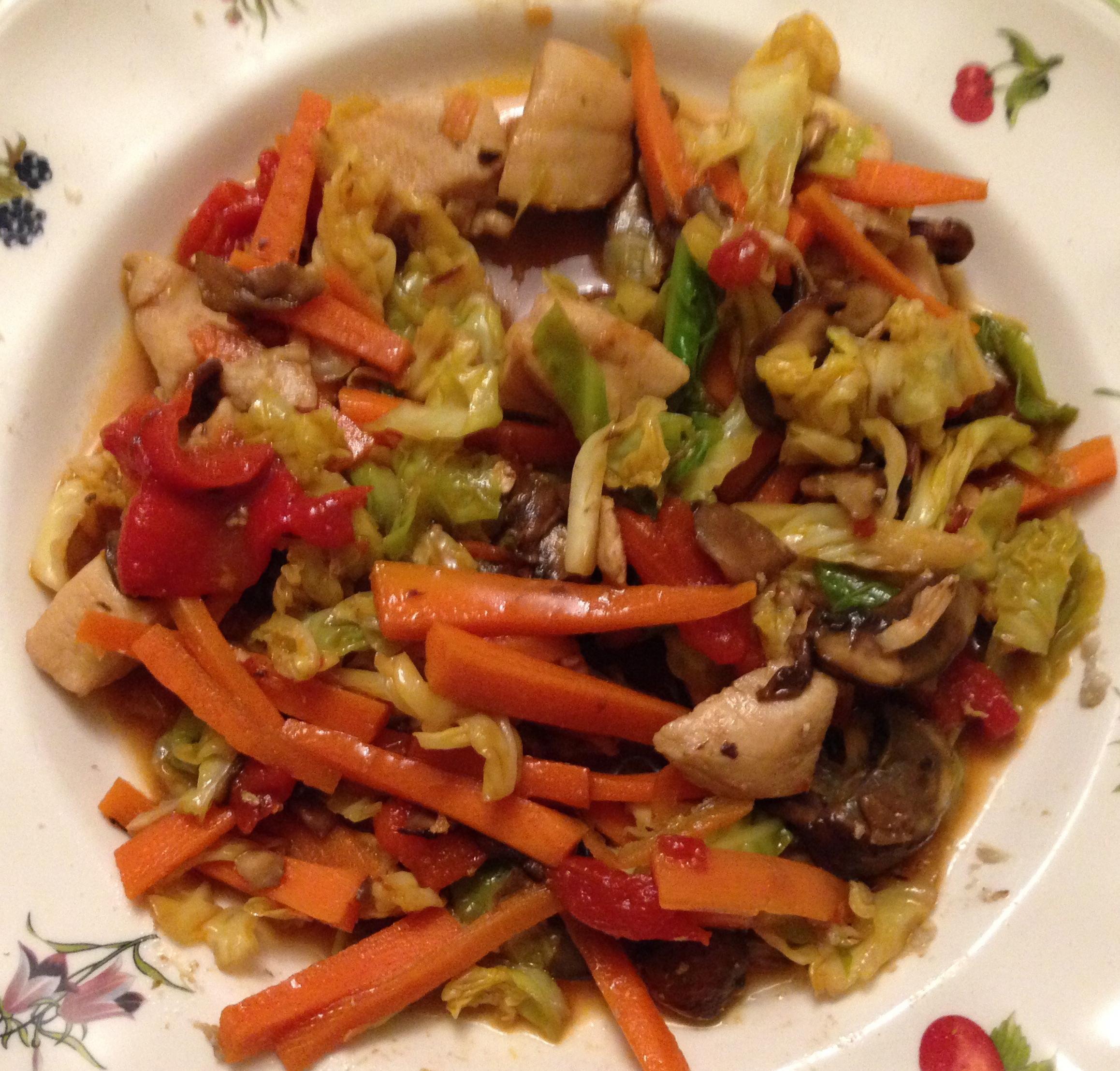 Pechugas de pollo con verduras en wok principiantes for Que cocinar con pollo